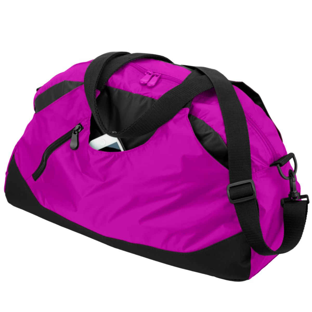 1147 Crescent Duffel Bag POWER PINK/BLACK OS