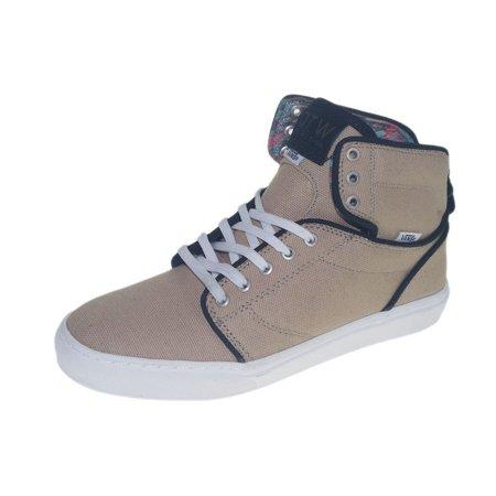 b1f47769b5 Vans - Vans Alomar Skateboarding Shoes Textile Khaki White - Walmart.com