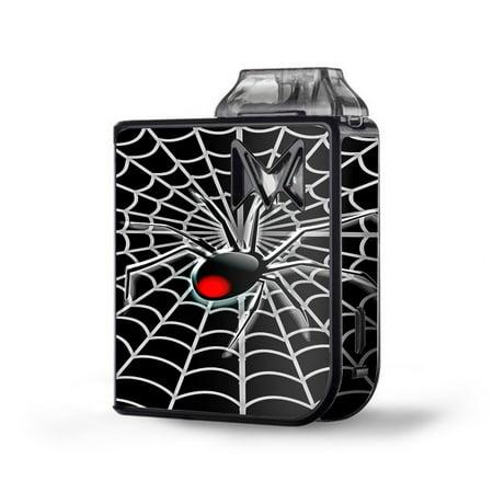 Skin Decal Vinyl Wrap for SV Mi-Pod kit Vape skins stickers cover/ Black Widow Spider Web (Black Widow Spider Web)