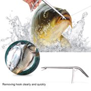 Durable Stainless Steel Fish Hook Remover Removing Clamp Tool Fishing Tackle Accessory, Stainless Steel Hook Remover,Hook Remover