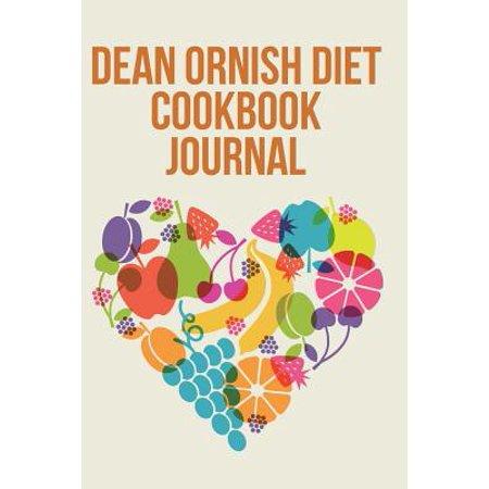 Dean Ornish Diet Cookbook Journal by