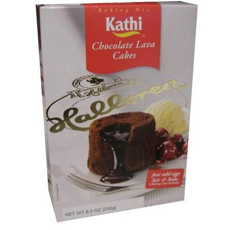 Chocolate Lava Cakes Mix (Kathi) 8.5 oz (240g)