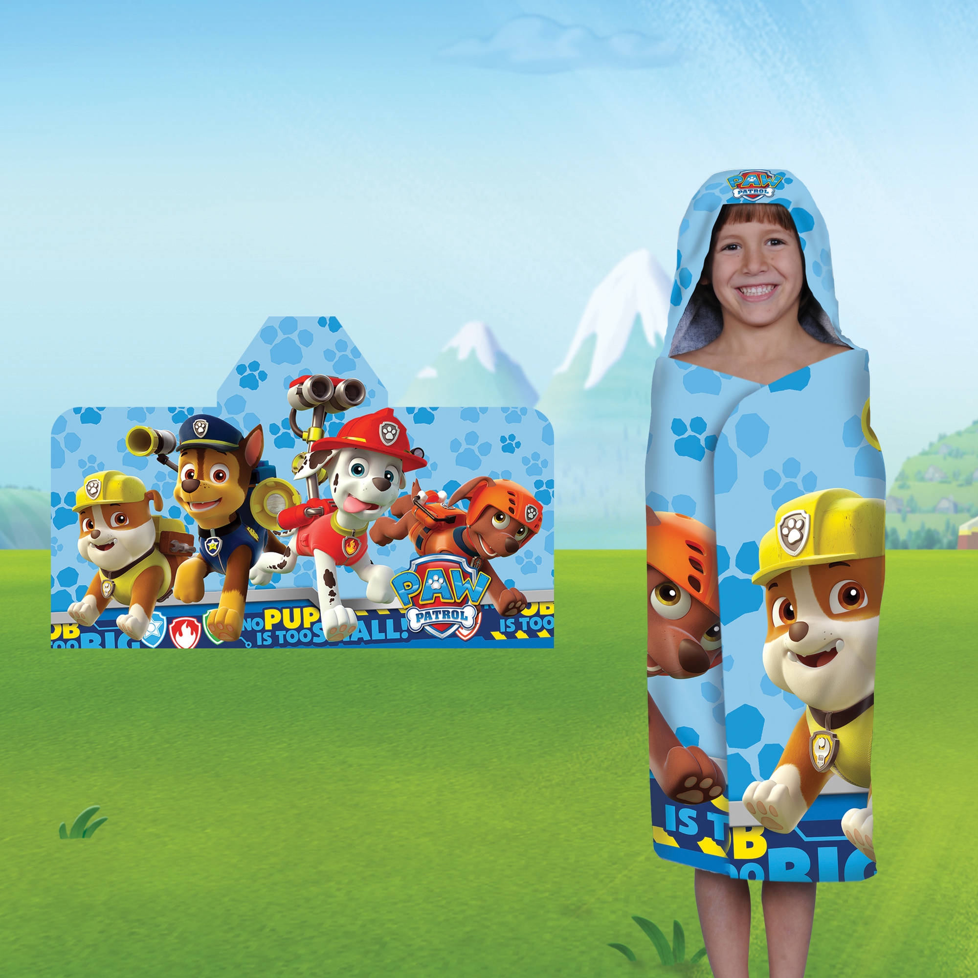 Nickelodeon's Paw Patrol Hooded Bath Towel by Franco