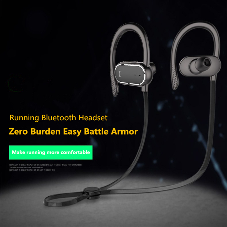 Bluetooth Wireless Headphones Sweatproof and Waterproof Sports Earphones