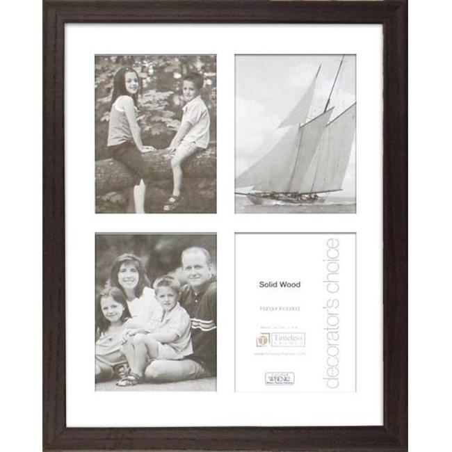 Timeless Frames 44625 Americana Collage Espresso Wall Frame, 8 x 10 in.