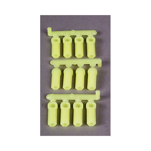 73377 Heavy Duty Rod Ends Yellow 4-40 (12) Multi-Colored