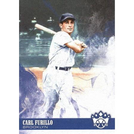 2018 Panini Diamond Kings #16 Carl Furillo Brooklyn Dodgers Baseball Card ()