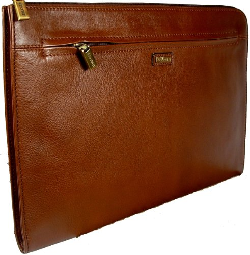 Visconti BOND - Brown Leather Under Arm Folio, Portfolio ...