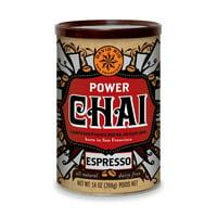 David Rio Power Chai Espresso, Powdered Tea, 14 Oz
