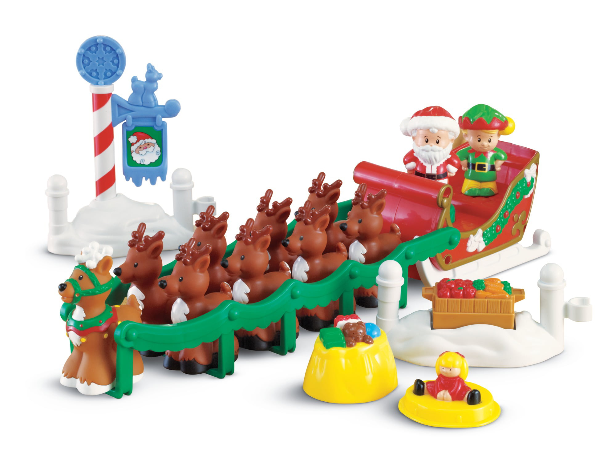 Fisher Price Little People Night Befor by Fisher-Price
