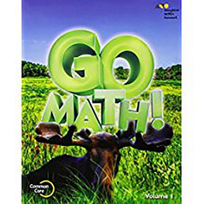 Go Math! : Student Edition Volume 1 Grade 3 2015 - Walmart.com