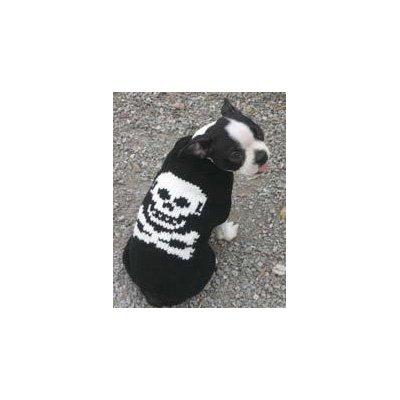 Chilly Dog Skull Dog Sweater