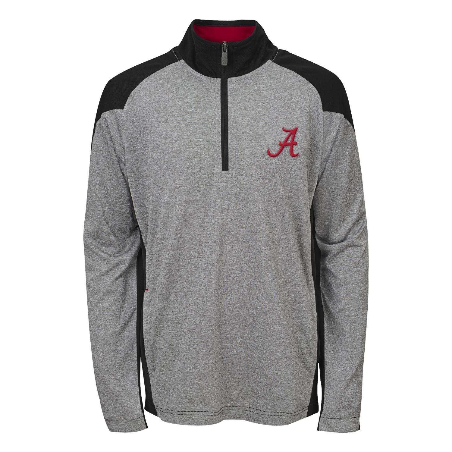 "Alabama Crimson Tide NCAA ""Helix"" Men's 1 4 Zip Pullover Jacket by Gen2"