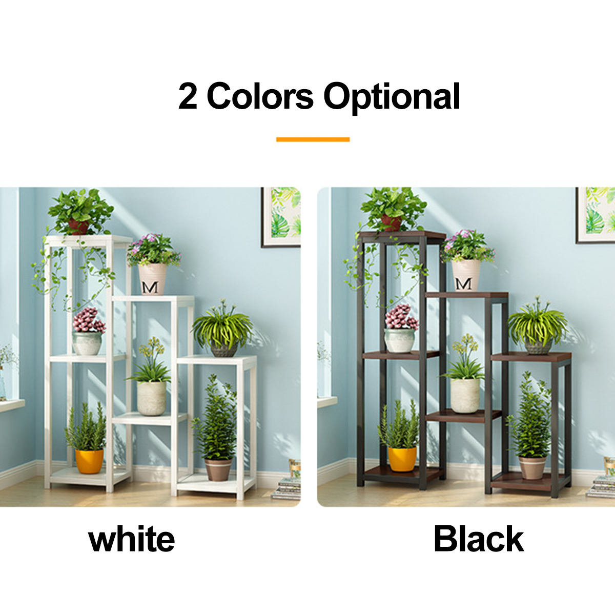 Plant Stand Balcony Living Room Flower Stand Plant Shelves Indoor Multi Layer Flower Stand Walmart Canada
