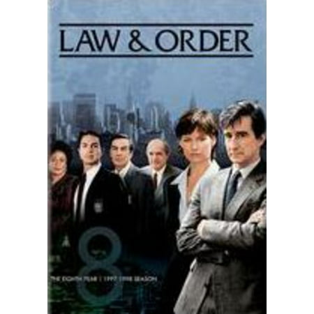 Law & Order: The Eighth Year (DVD) (Best Law And Order Characters)