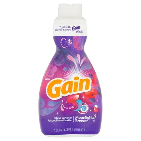 Gain Liquid Fabric Softener, Moonlight Breeze Scent, 52 loads, 41 fl oz