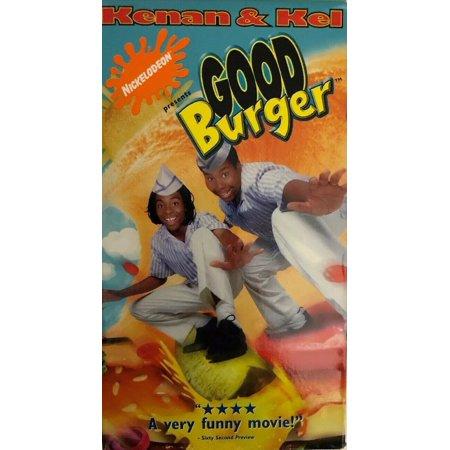 Good Burger 1997 VHS Tape Comedy Kel Mitchell & Kenan Thompson Nickelodeon (Kenan And Kel Best Moments)