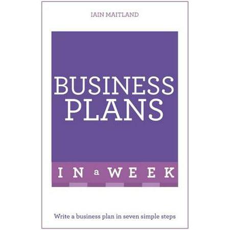 Business Plans in a Week - Utah Business Week