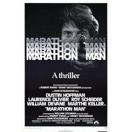 Marathon Man POSTER Movie (27x40) - Halloween Movie Marathon 2017