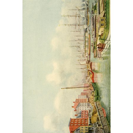 Valentines Manual of Old New York Hudson River Canal Boats Poster Print by  Frederick S Cozzens
