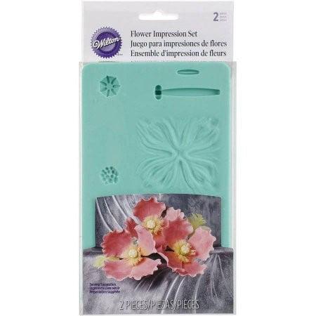 Wilton Flower Impression Set, 2Pc.