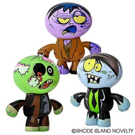 Set of 3 Crazy Inflatable Zombies (24