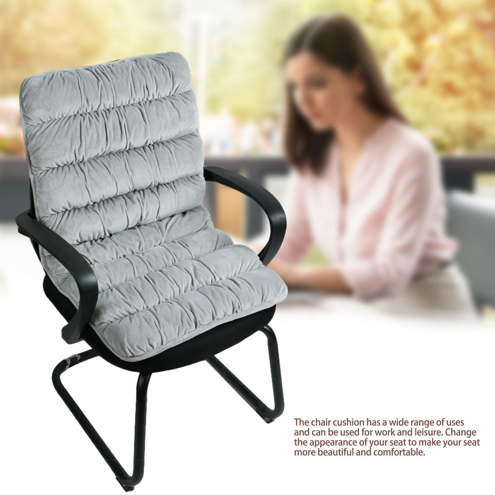 Picture of: Chair Cushion Non Slip Backrest Seat Pad For Work Leisure Walmart Com Walmart Com