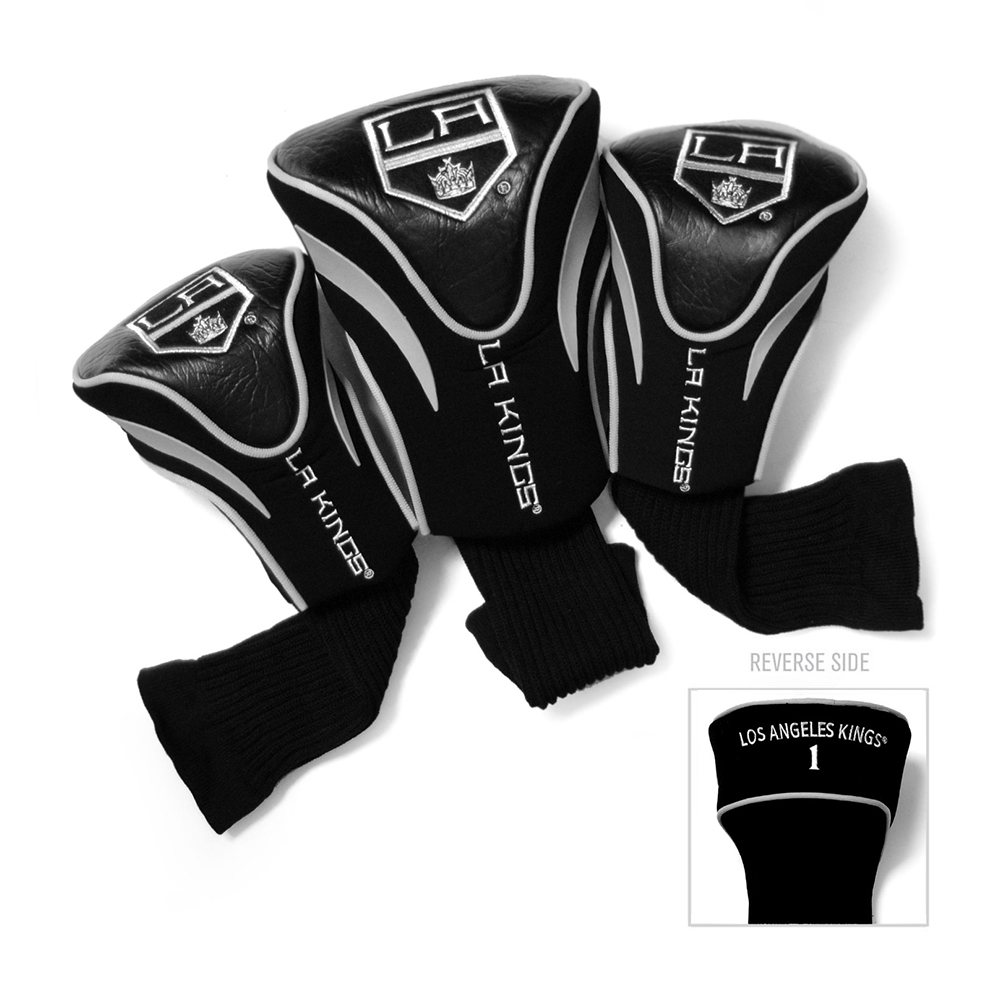 Golf Team 14294 Kings de Los Angeles Sock Contour 3 Headcovers - image 1 de 1