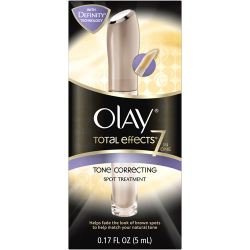 Olay Total Effects 7-in-1 Tone Correcting Spot Facial Moisturizer Treatment, 1.7 oz