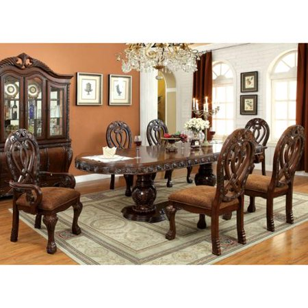 of america beaufort formal 7 piece dining set cherry