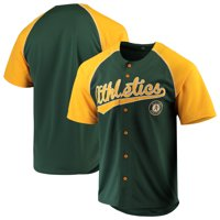 Oakland Athletics Stitches Team Jersey - Green/Yellow