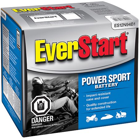 Everstart Battery Warranty >> EverStart PowerSport Battery, ES-12N94B1 - Walmart.com