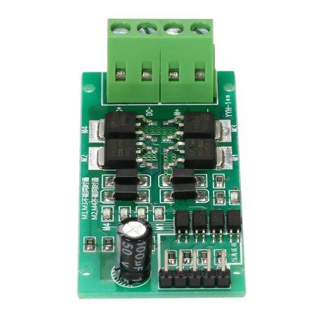 "DC5V~27V 5A DC Motor Driver Board Module Reversible Speed Control ""H"" PWM Signal Controller - image 6 de 7"