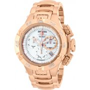 Invicta Women's 17224 Subaqua Chrono 18K Rose Gold Plated Ss White Dial Watch