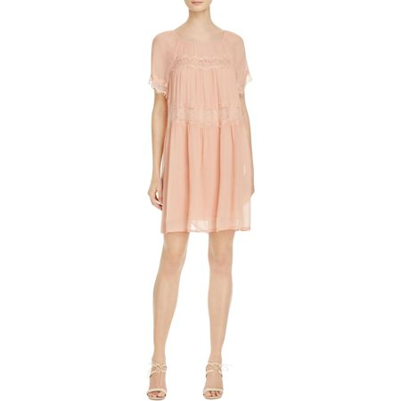 French Connection Womens Tent Sheer Casual Dress