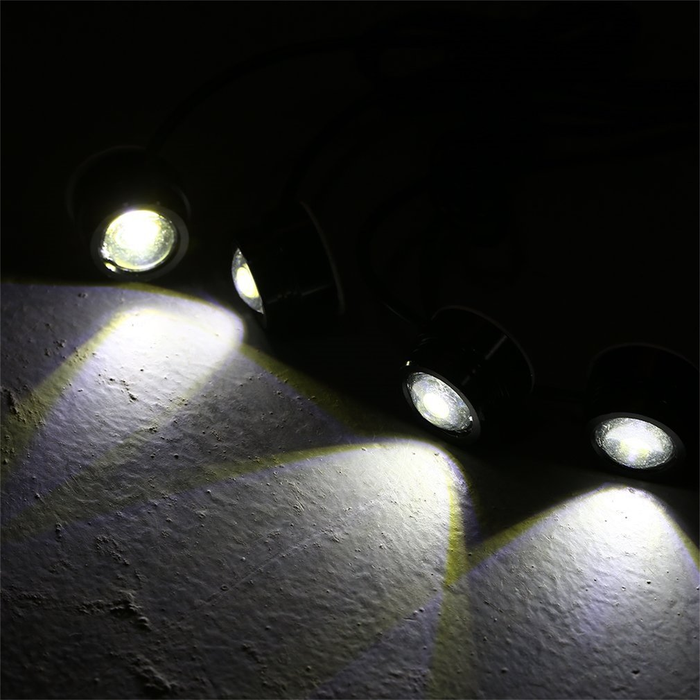 4in 1 LED Car Emergency Strobe Lights DRL Wireless Remote Control Kits