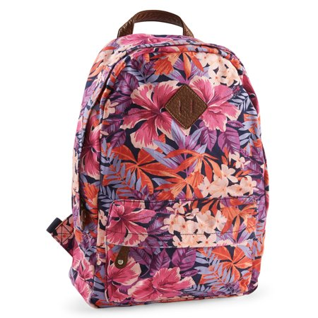 Ps09 From Aeropostale Womens Hibiscus Floral Backpack Walmartcom