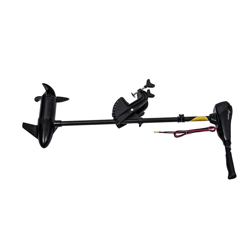 Outsunny 12V Transom Mounted 50-Pound Thrust Electric Fishing Boat Trolling Motor by Aosom LLC