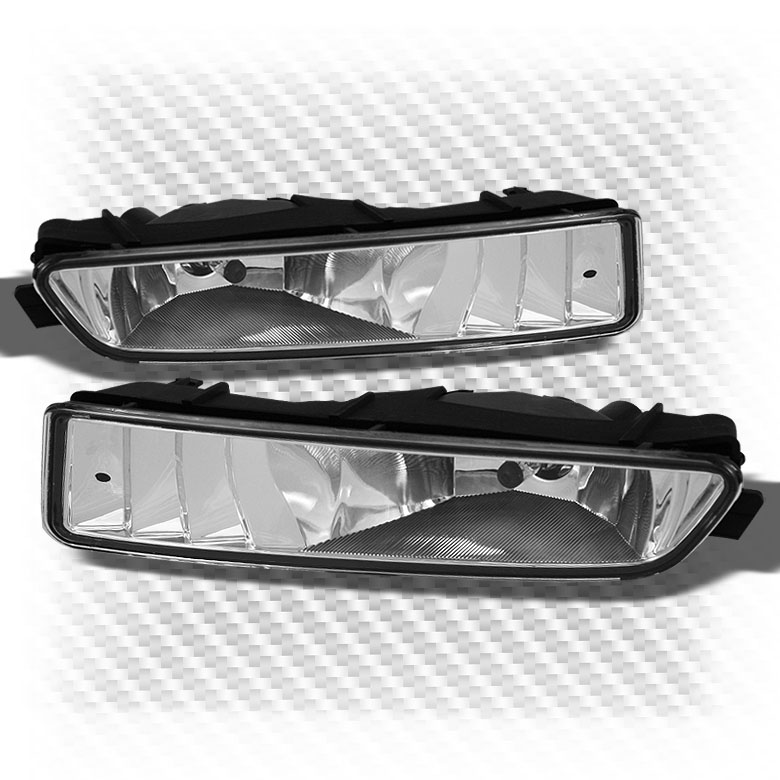 1999-2003 Acura TL Sport Clear Bumper Driving Fog Lights w/Switch+Bulbs+Wiring 2000 2001 2002 Pair Left+Right