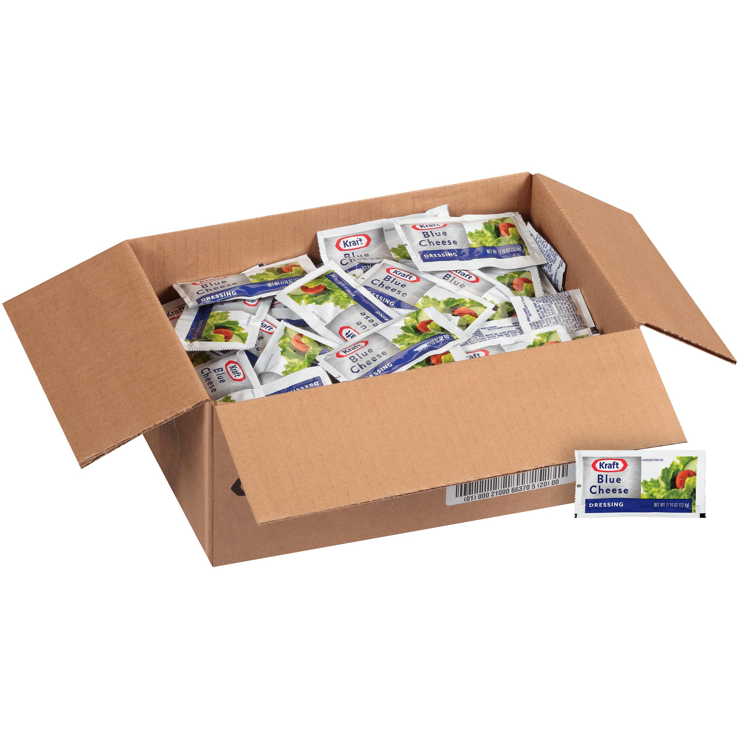Single serve salad dressing packets