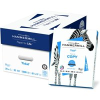 Hammermill Tidal Printer Paper, 8.5 x 11in, 20lb, 92 Bright, 5,000 Sheets / 10 Ream