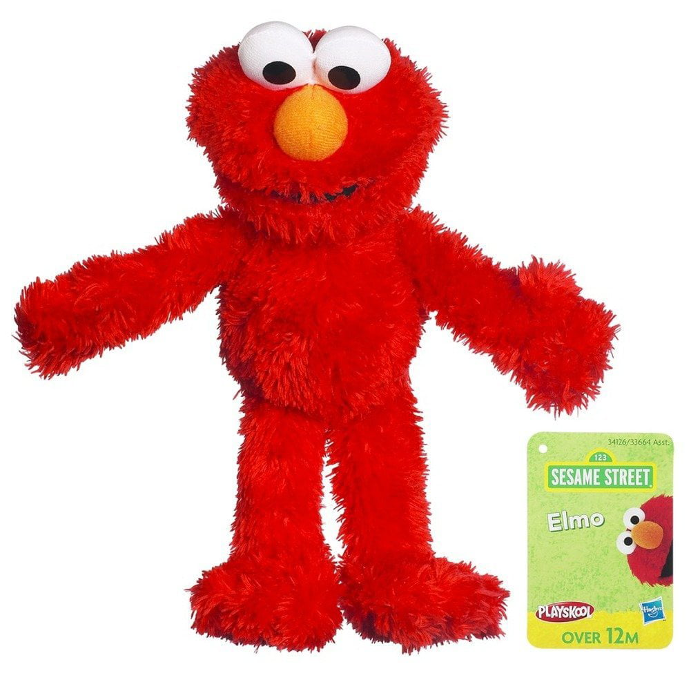 Sesame Street Plush Elmo, 9 Inch, Measures approximately 9 inches in length. By Playskool by Playskool