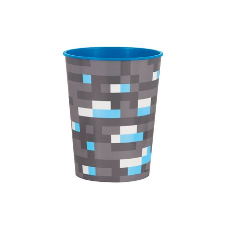 Minecraft 16oz Plastic Favor Cup - Mine Craft Party Supplies