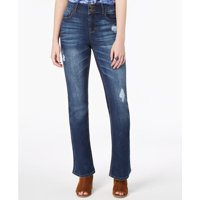 bc496bc23d8 Product Image Vanilla Star - Ripped Double-Button Bootcut Jeans - Juniors -  11