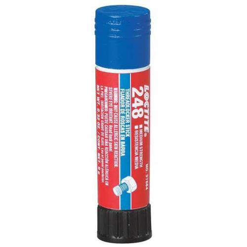 LOCTITE 37684 Threadlocker 248, 9g Stick, Blue