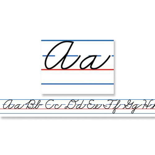 Frank Schaffer Publications/Carson Dellosa Publications Desk Tapes Traditional Cursive Letters (Set of 36)