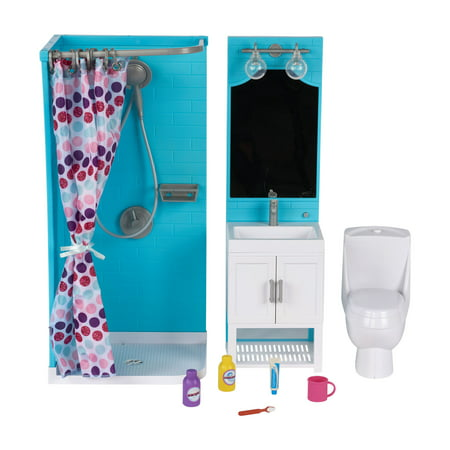My Life As Bathroom Play Set for 18