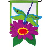 Evergreen Enterprises, Inc Dragonfly Garden Flag