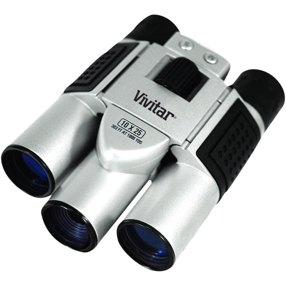Vivitar 10x25 Binoculars with Built-in Digital Camera