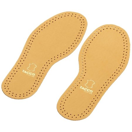 Tacco 613 Luxus Thin Sheepskin Leather RelaxFlex Active Carbon Anti-Odor Insoles